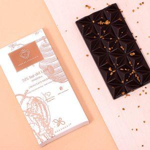 Tablete de chocolate com mel BeeSweet