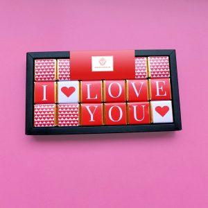 Napolitanas de Chocolate - Presentes Dia dos Namorados