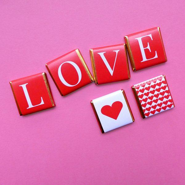 Napolitanas de Chocolate Dia dos Namorados
