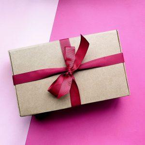 caixa presente chocolate artesanal